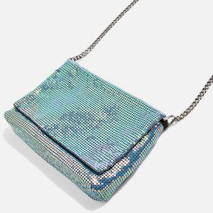 🔥2/$40🔥Topshop Chainmail Crossbody Bag NWOT